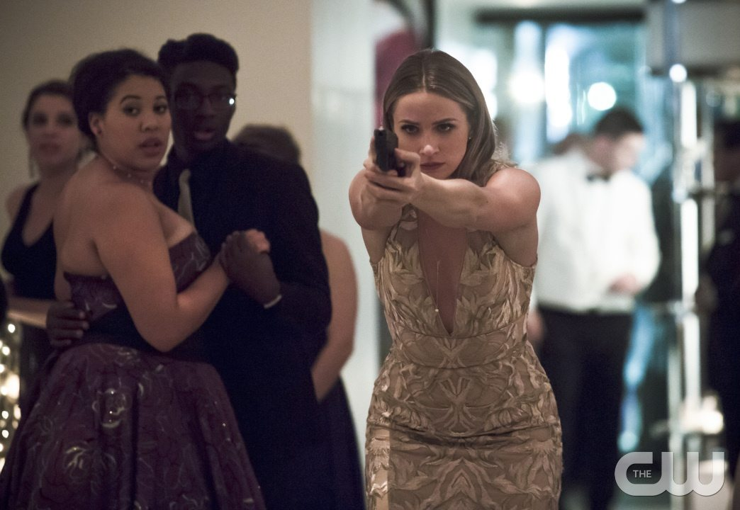 """The Flash -- """"Potential Energy"""" -- Image FLA210b_0107b -- Pictured: Shantel Van Santen as Detective Patty Spivot -- Photo: Katie Yu/The CW -- �© 2016 The CW Network, LLC. All rights reserved."""