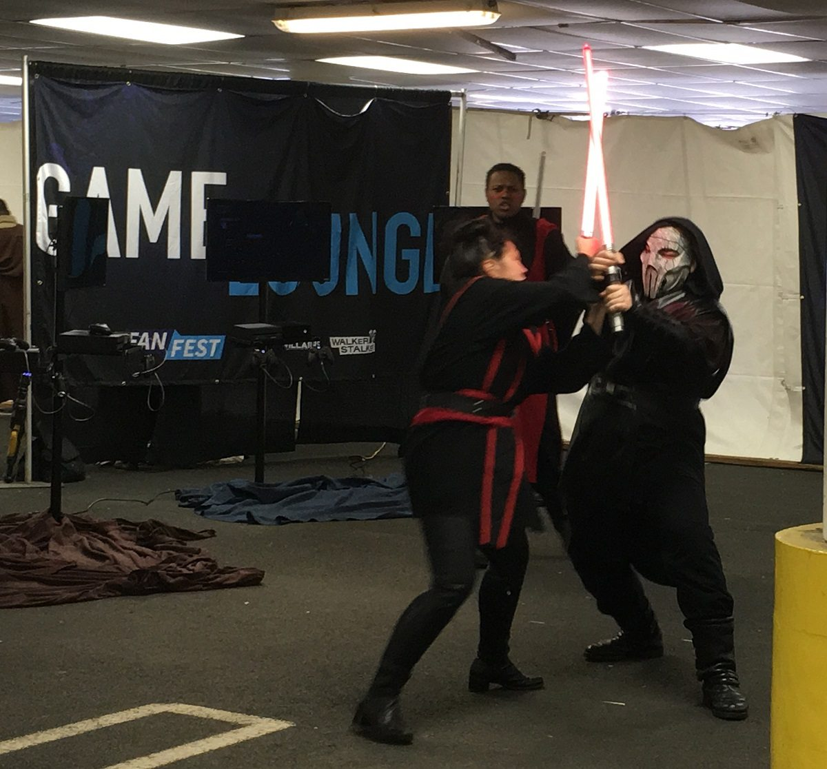 A former Jedi padawan battles her Sith lord for freedom!