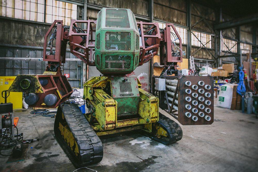 The Megabot Mk. II.