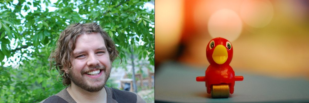 It's easy to do different kinds of portraits, of your favorite people or your favorite toys. Photos: Jenny Bristol