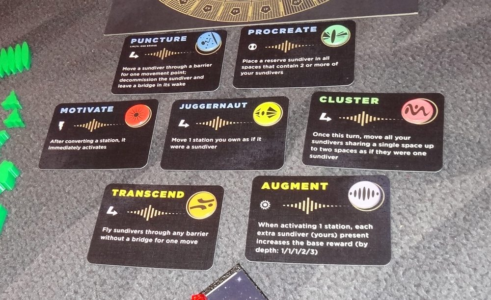 Sol instability effect cards