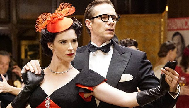 Dottie, in Black Widow colors, and Jarvis cut a rug. Image via ABC/Disney