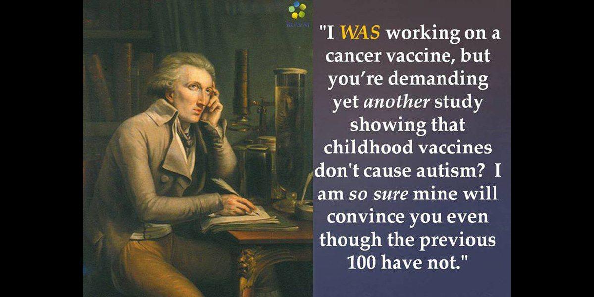Anti-vax meme