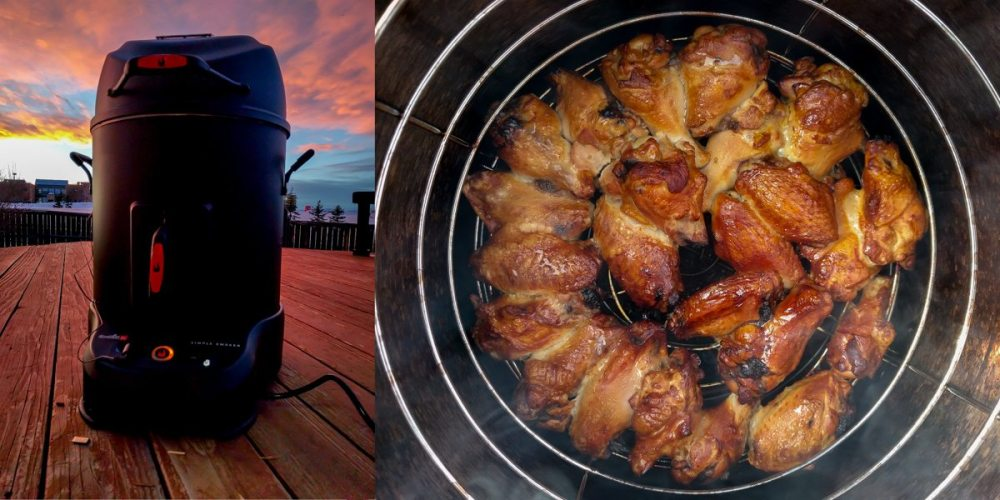 Charbroil Smoker wings beauty