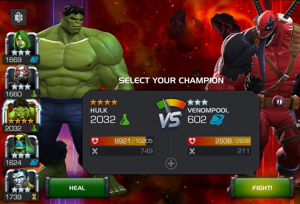 Marvel Contest of Champions Venompool
