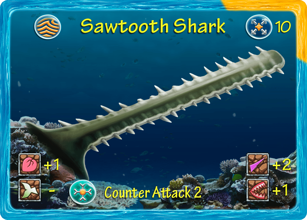 Sawtooth Shark Horn from ADAPT
