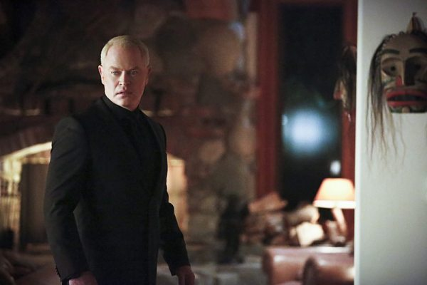 """Arrow -- """"Taken"""" -- Image AR415A_0018b.jpg -- Pictured: Neal McDonough as Damien Darhk -- Photo: Bettina Strauss/ The CW -- �© 2016 The CW Network, LLC. All Rights Reserved."""