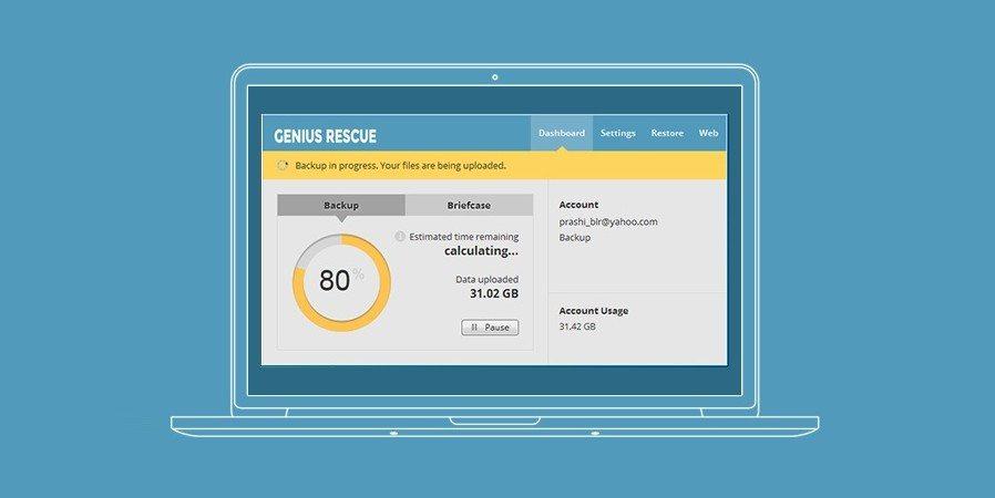 Genius Rescue 2TB Cloud Backup2