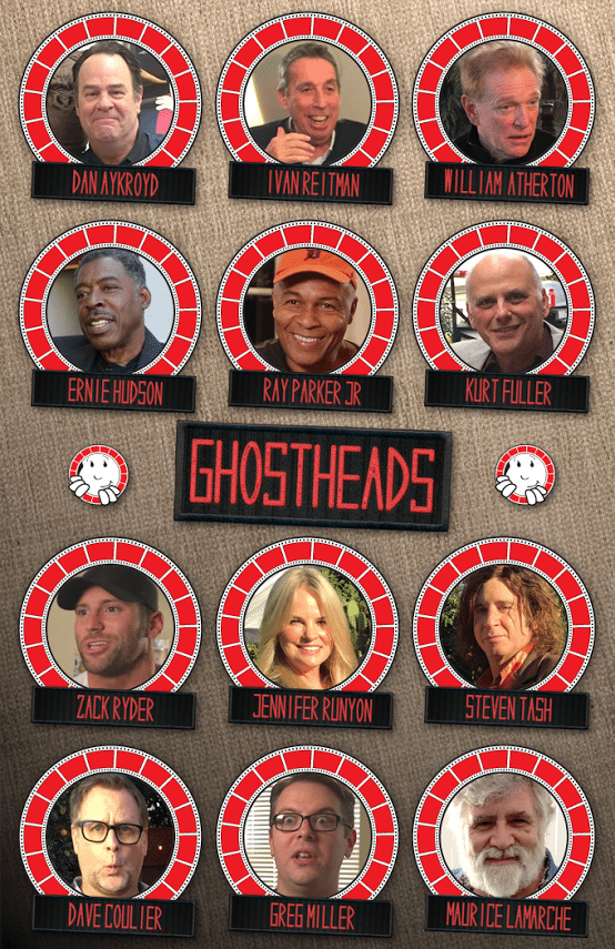 Ghostbusters Cast Members for Ghostheads Documentary
