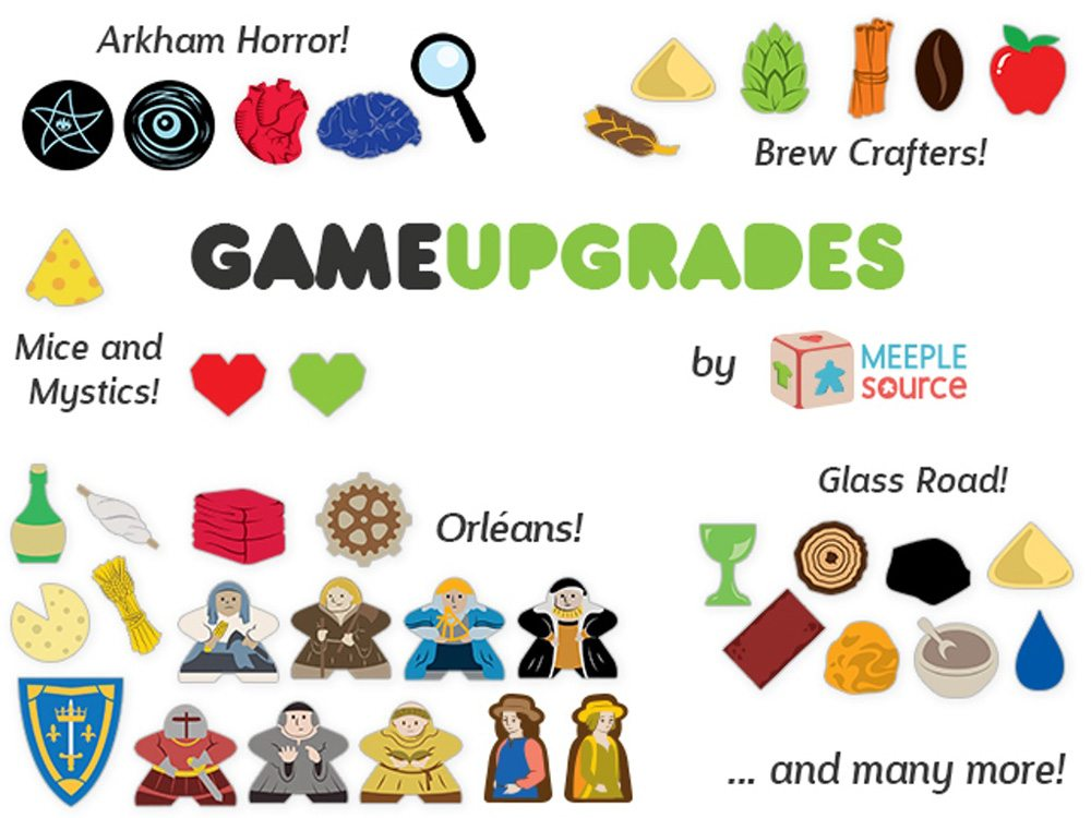 Meeple Source Game Upgrades