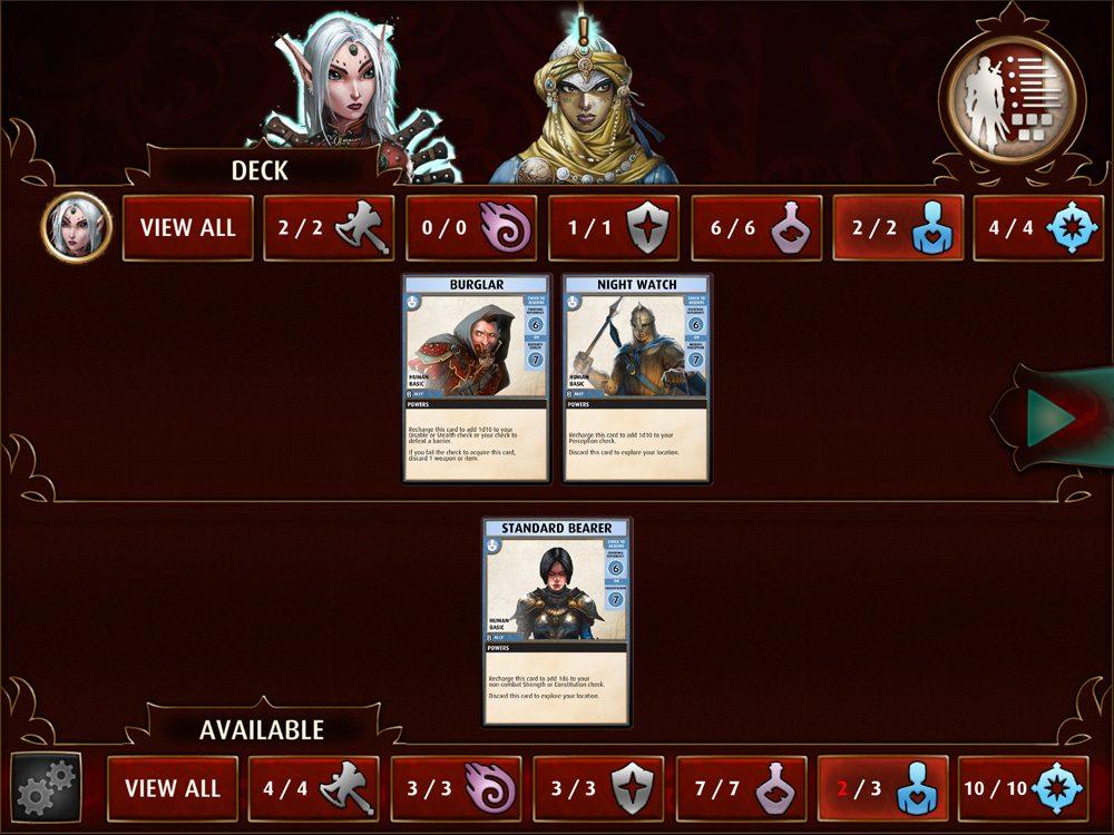 PathfinderAdventures decks
