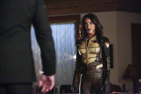 """Arrow -- """"Taken"""" -- Image AR415A_0092b.jpg -- Pictured: Megalyn E.K. as Vixen -- Photo: Bettina Strauss/ The CW -- �© 2016 The CW Network, LLC. All Rights Reserved."""