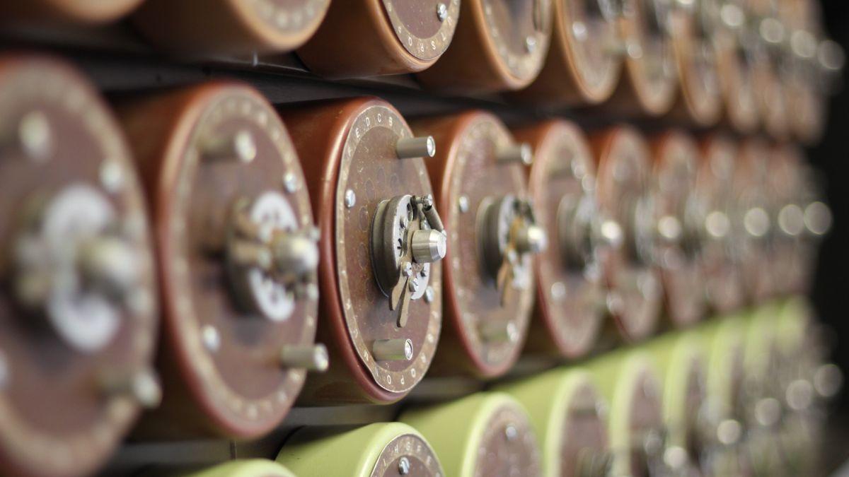 Bombe Machine Cylinders