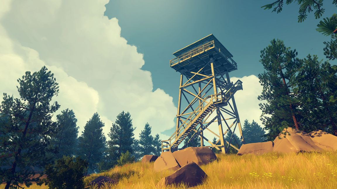 Two Forks Fire Lookout Tower