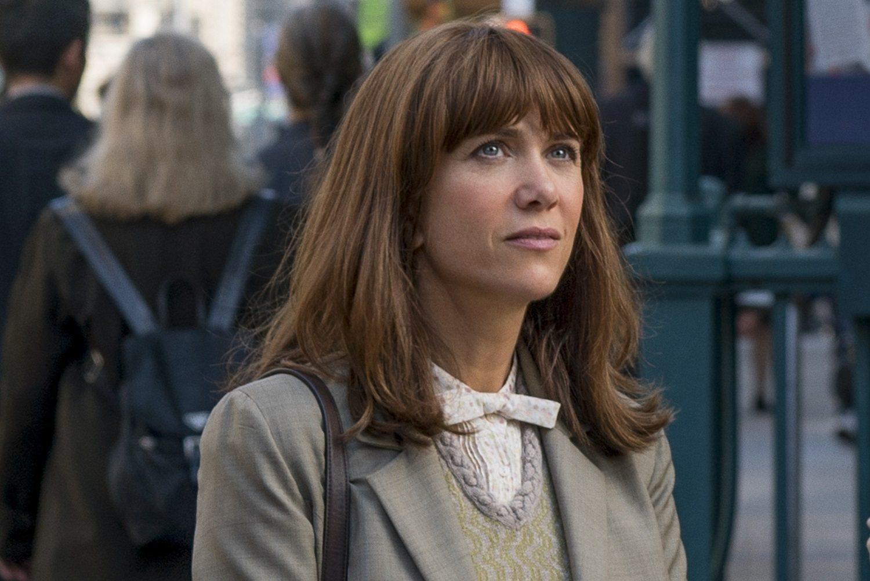 Erin (Kristen Wiig) in Columbia Pictures' GHOSTBUSTERS.