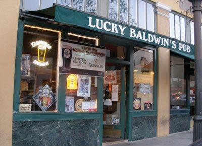 "Sheldon called it ""Pasadena's favorite Irish watering hole,"" but it's actually an English pub."