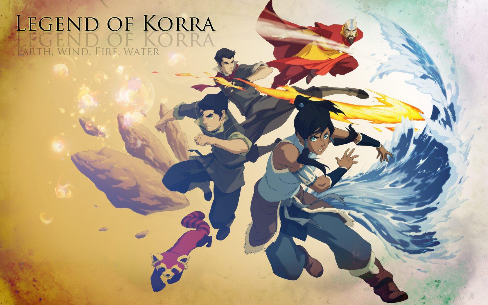 Avatar: The Legend of Korra on Nickelodeon.