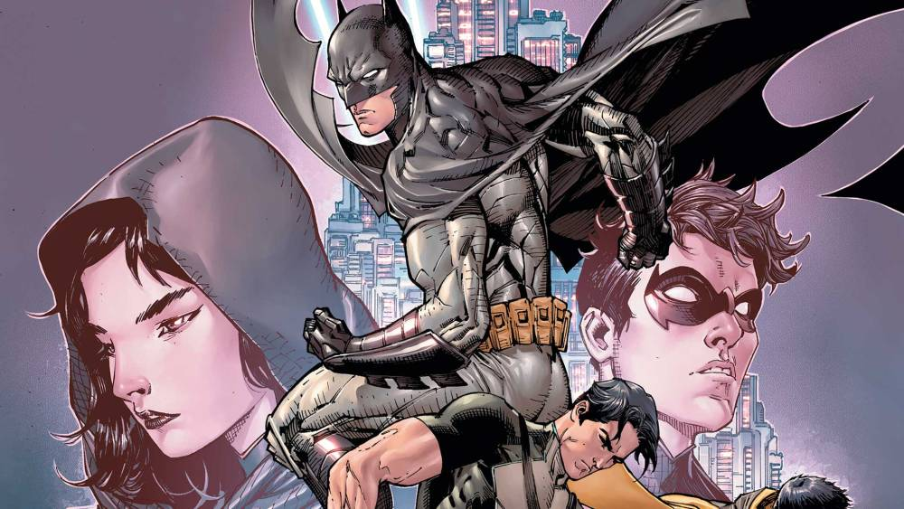 Midnighter is missing from the cover but not the comic. Image copyright DC Comics