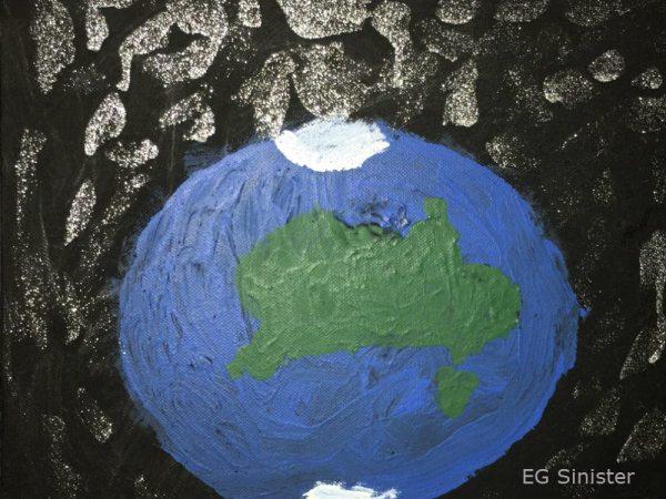 Planet Earth Artwork