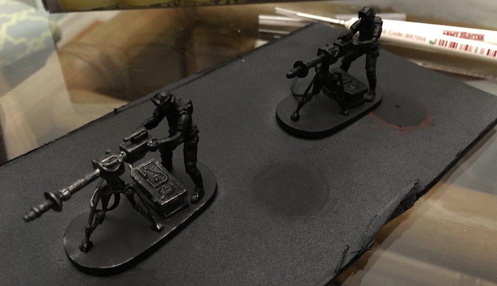 Imperial Assault E-Web drybrush