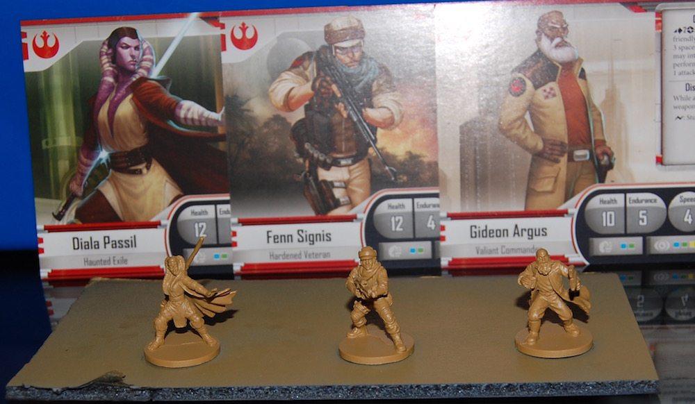 Imperial Assault Heroes Primed