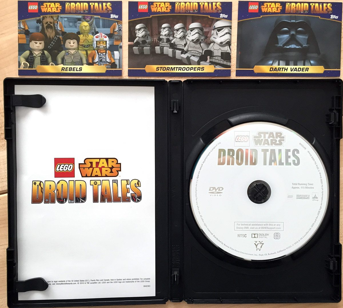 LegoStarWarsDroidTales-Contents