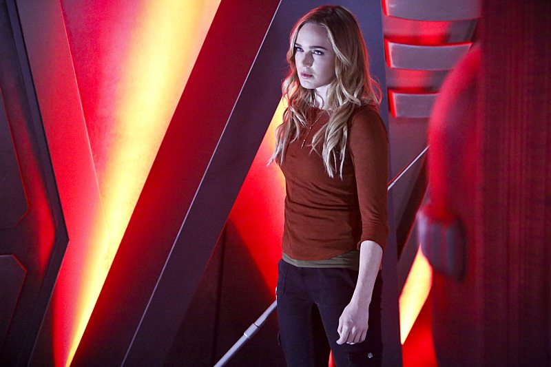 """DC's Legends of Tomorrow -- """"Marooned"""" -- Image LGN107A_0196b.jpg -- Pictured: Caity Lotz as Sara Lance/White Canary -- Photo: Bettina Strauss/The CW -- �© 2016 The CW Network, LLC. All Rights Reserved."""