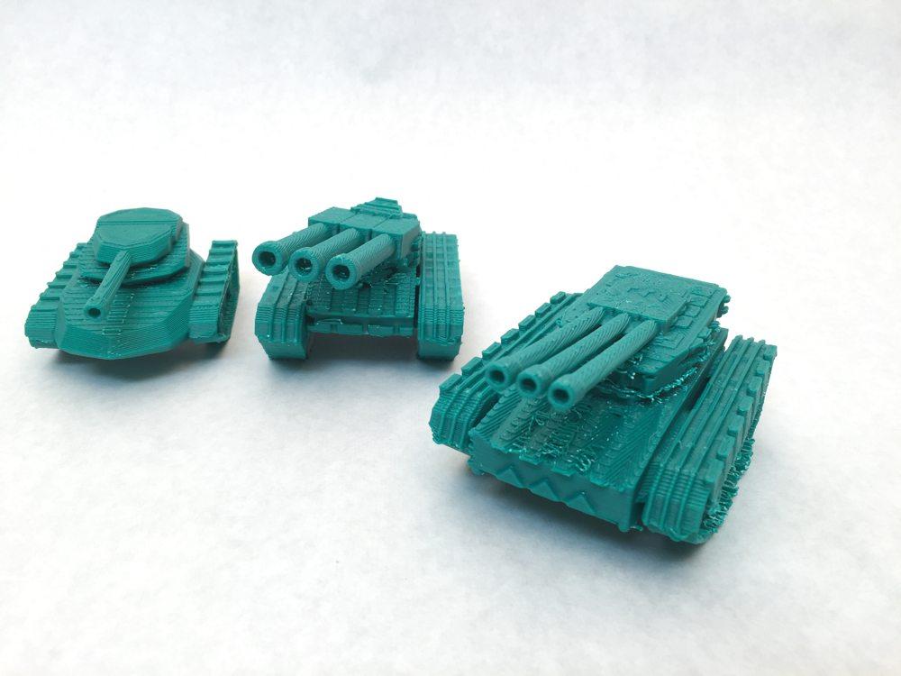 LulzBot Mini tanks.