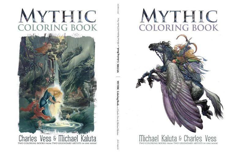 Mythic Coloring Book
