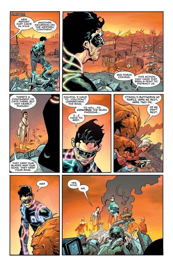 panel from Omega Men #10, copyright DC Comics