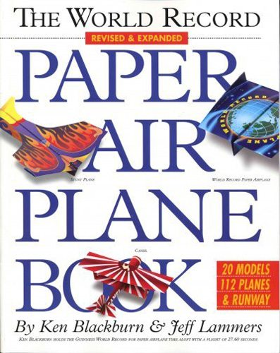 The World Record Paper Airplane Book