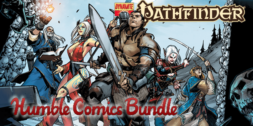 Pathfinder Comics Humble Bundle