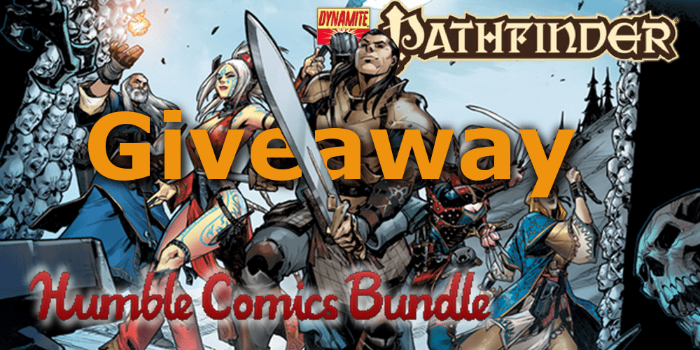 Pathfinder Comics Humble Bundle Giveaway