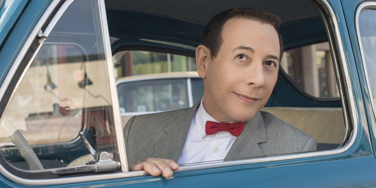 "Paul Reubens returns as his most famous character in ""Pee-Wee's Big Holiday,"" streaming on Netflix in March. (Photo by Glen Wilson/Netflix)"