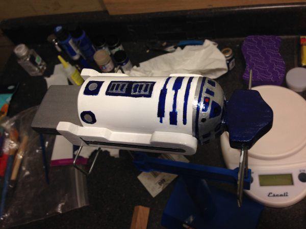 R2D2 makes for one cool car - email me if you want to know how to build him.