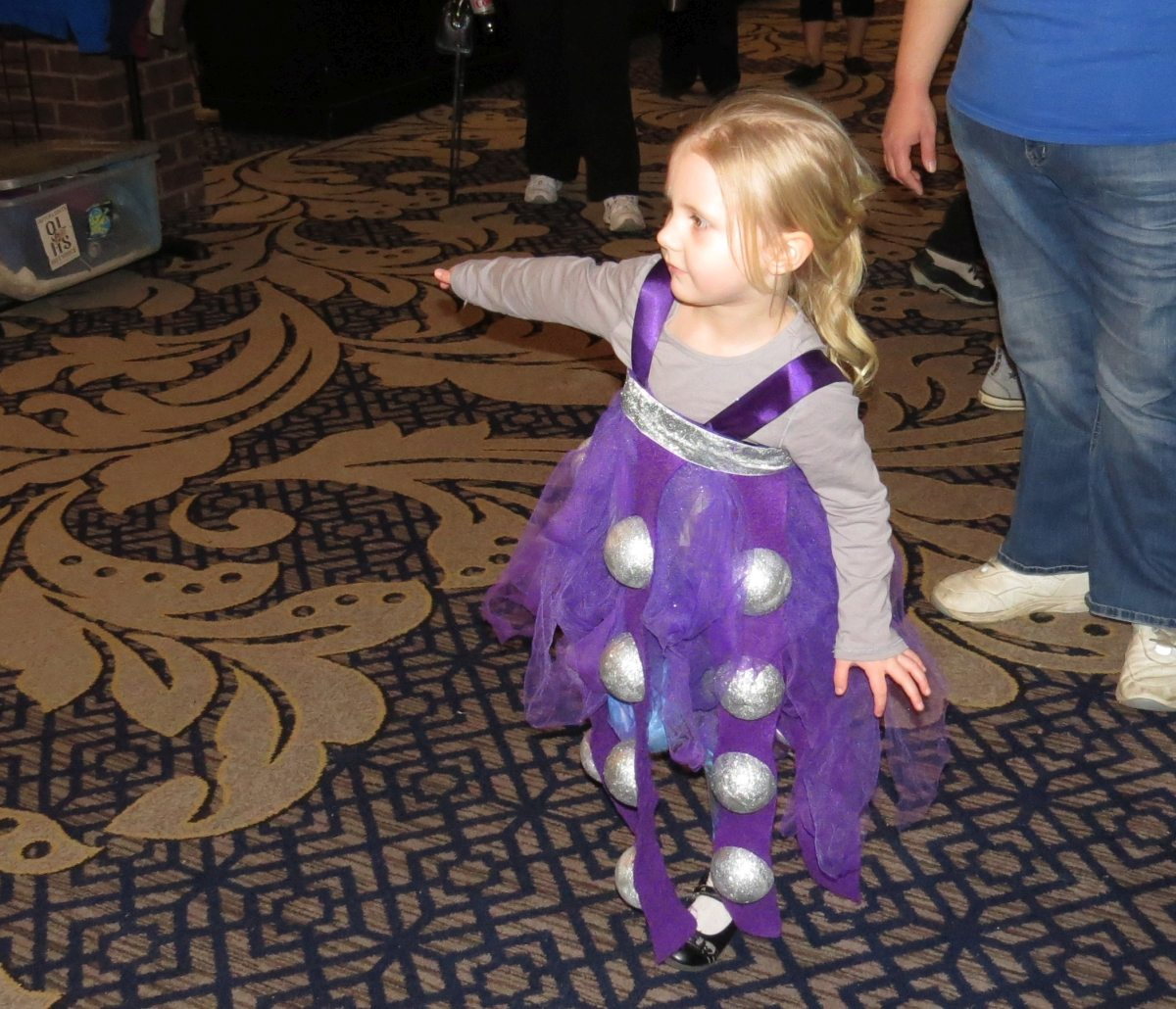 (Re)Generation Who - This little girl was quite possibly the cutest Dalek I've ever encountered.