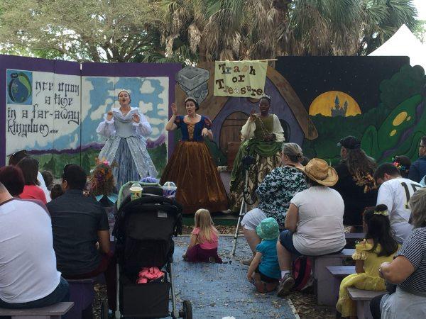 Ren Festival Princess Singing Show Dakster Sullivan