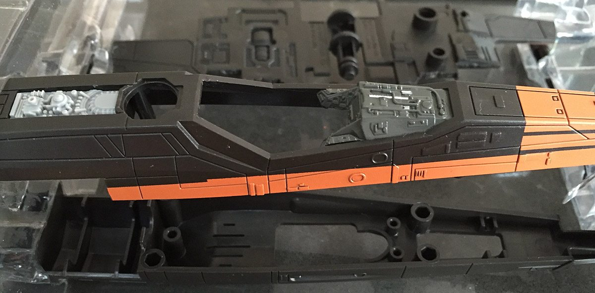 Revell X-Wing Detail