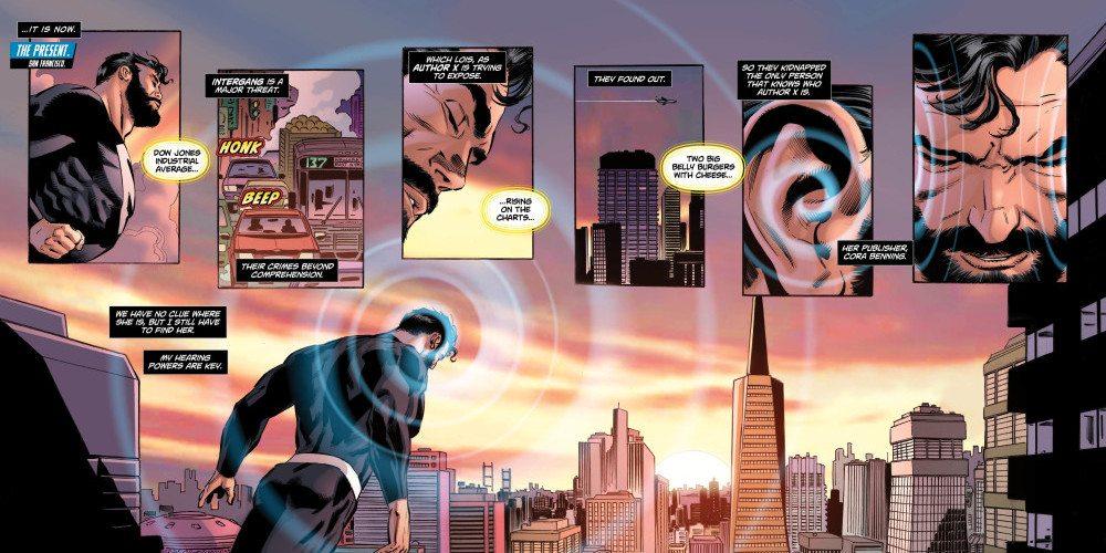 Panel from Superman: Lois & Clark #6, copyright DC Comics