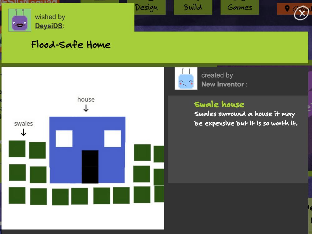 Kid's design drawing. WGBH 2016