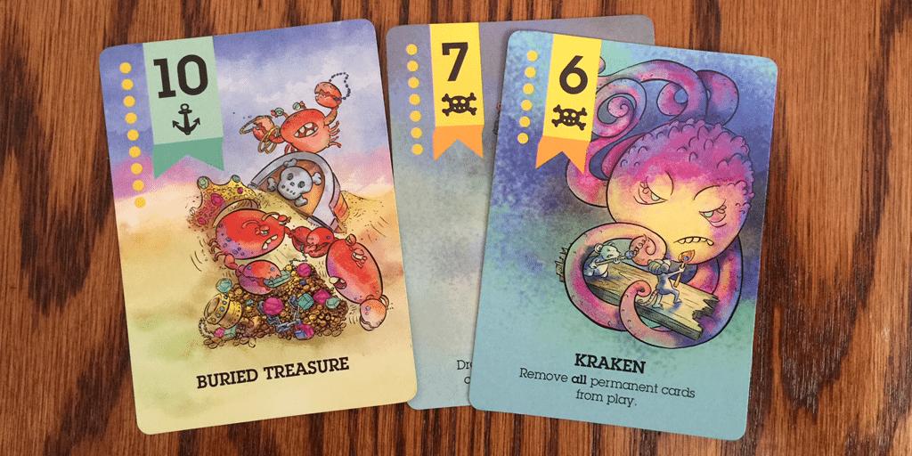 Scuttle Treasure Cards
