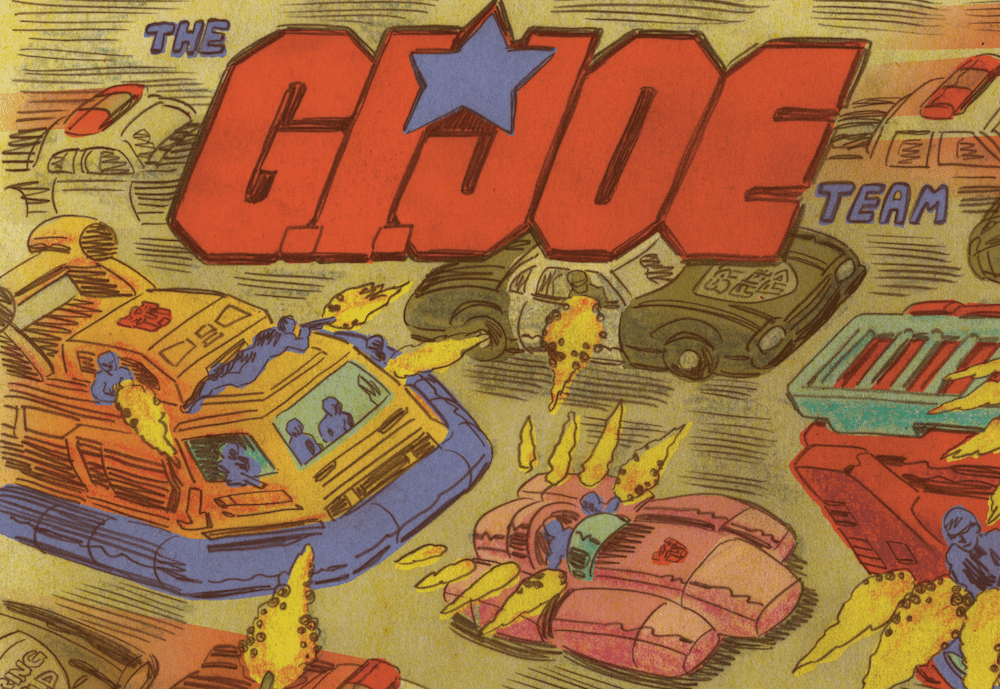 Transformers vs. G.I. Joe #7 Interior