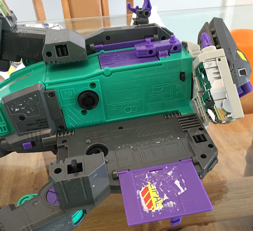 Trypticon Sticker Removal