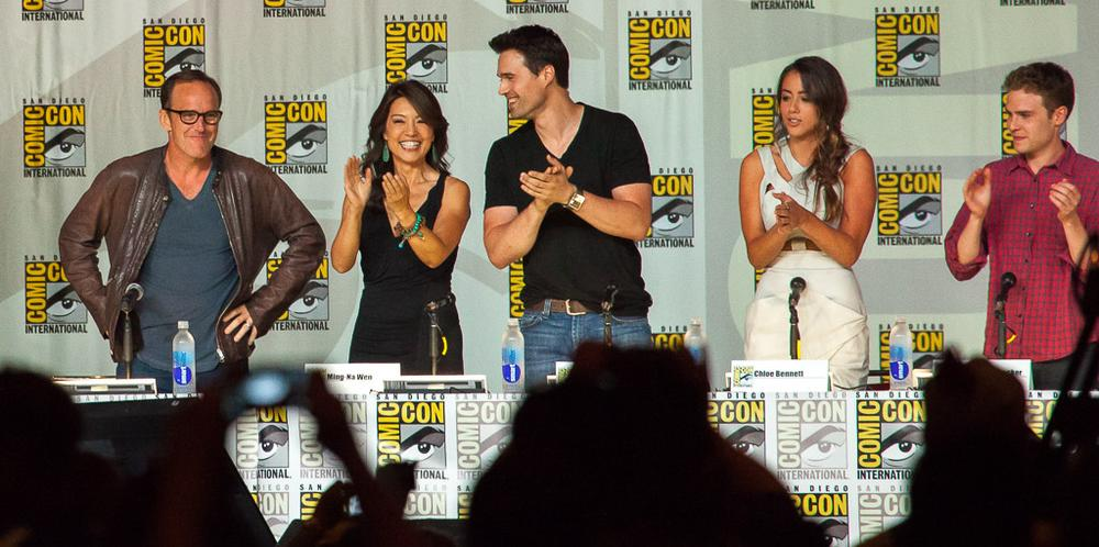 SDCC 2013 - Agents of Shield Panel