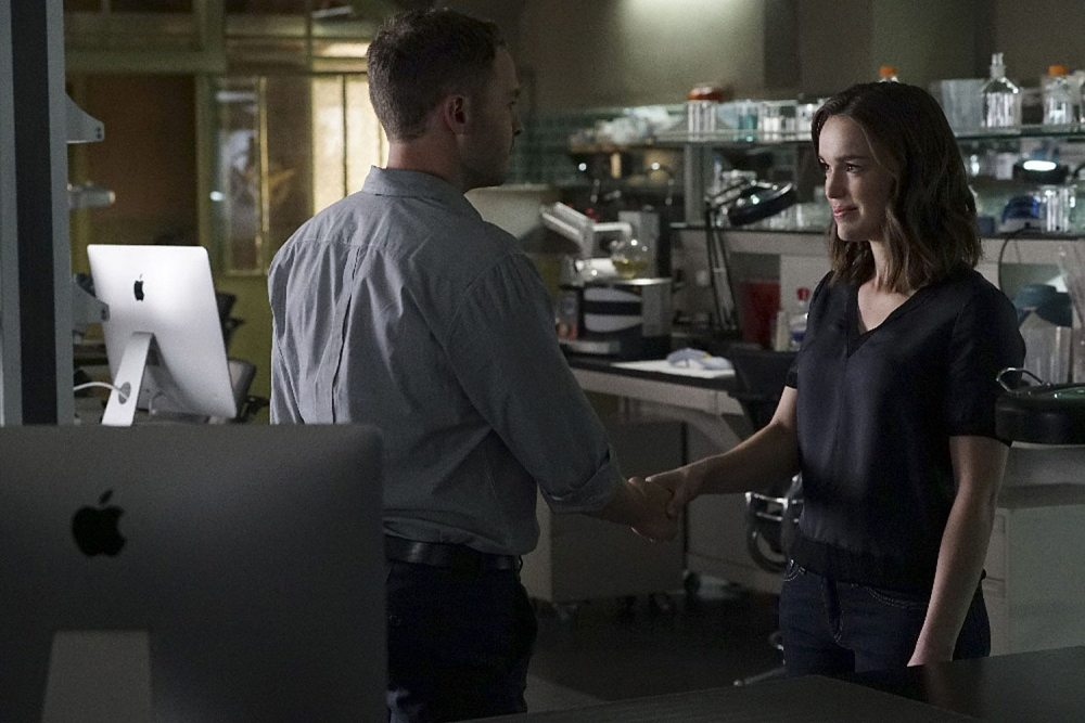 Fitz and Simmons start over. Image via ABC/Marvel Entertainment