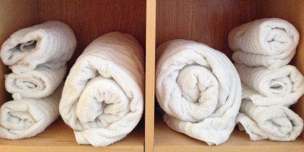 obsessive towel rolls