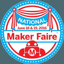 2016 National Maker Faire badge
