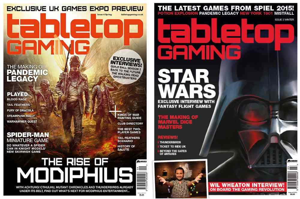 tabletop gaming cover images