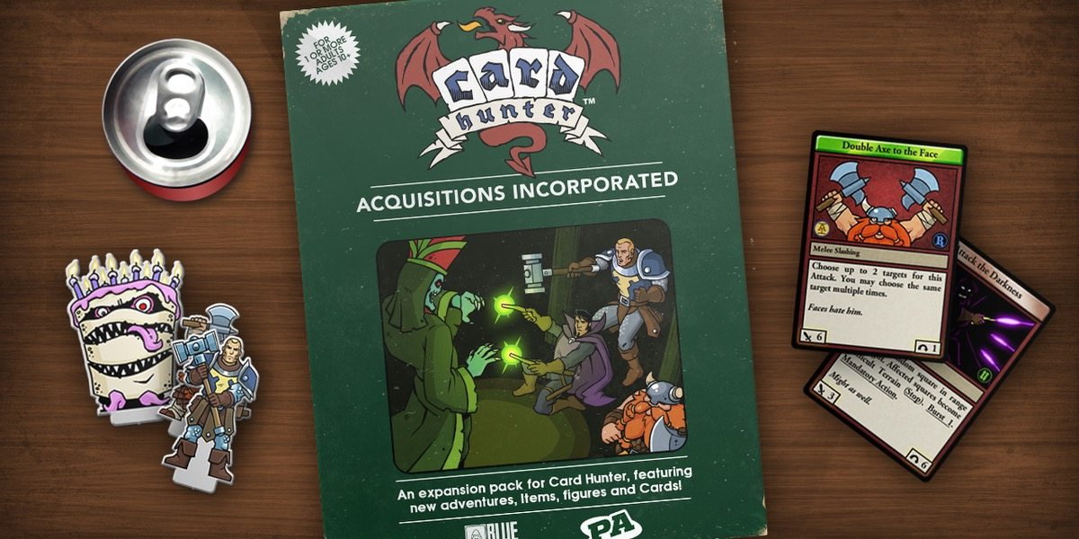 Acquisitions Incorporated Comes to Card Hunter