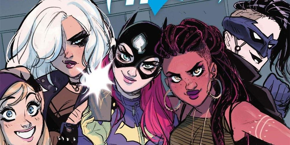 The gang's all here! Batgirl cover copyright DC Comics